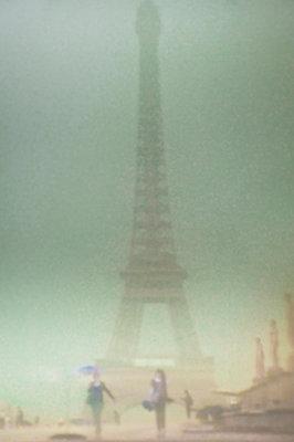 Eiffel Tower - p1103m1072796 by Virginie Pontisso