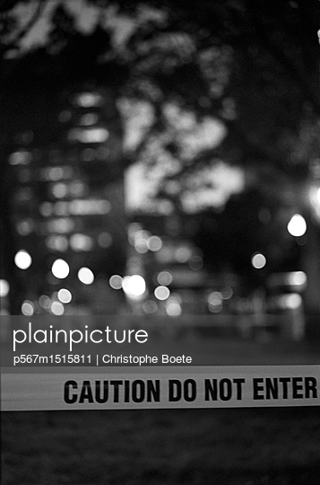 Do not enter - p567m1515811 by Christophe Boete