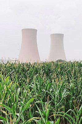 Zwei Arten der Energiegewinnung - p1085m854191 von David Carreno Hansen