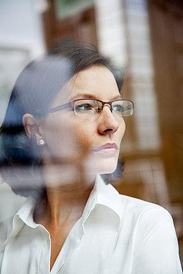 Businesswoman - p4130683 by Tuomas Marttila