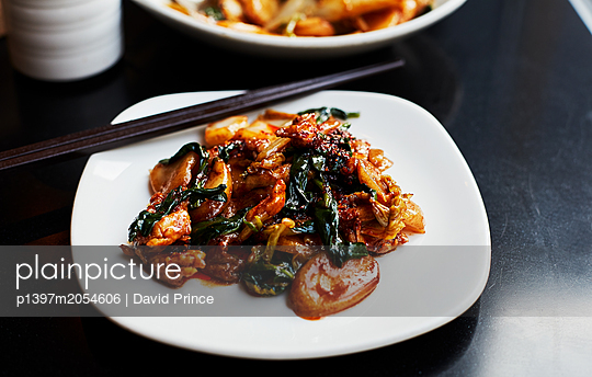 Chicken with rice - p1397m2054606 by David Prince