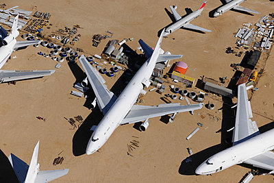 Boeing 747 scrap - p1048m1058607 by Mark Wagner