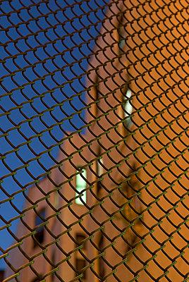 Chain Link Fence in Lower Manhattan - p5690215 by Jeff Spielman