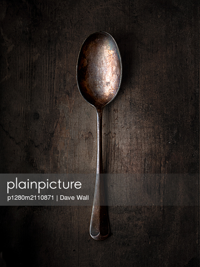 Vintage Spoon - p1280m2110871 by Dave Wall