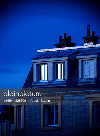 Paris, Old Building - p1654m2289091 by Alexis Bastin