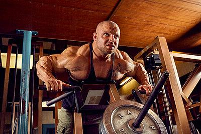 Bodybuilding - p1200m1159359 von Carsten Goerling