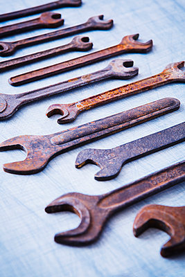 Screw wrenches - p1149m2021458 by Yvonne Röder