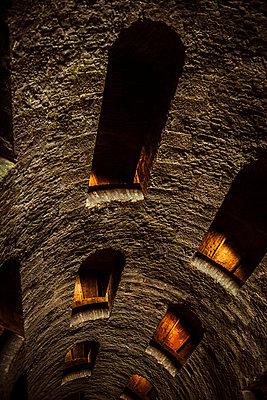 The Medieval Pozzo di San Patrizio in Orvieto, Italy - p968m1039193 by roberto pastrovicchio