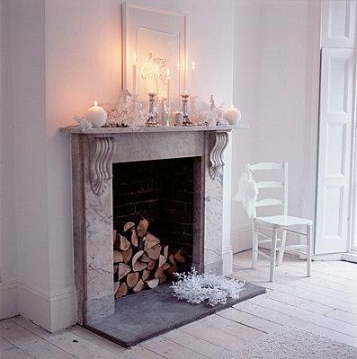 Fireplace mantel - p3492587 by Emma Lee