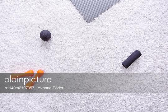 Fitness zuhause - p1149m2197057 von Yvonne Röder