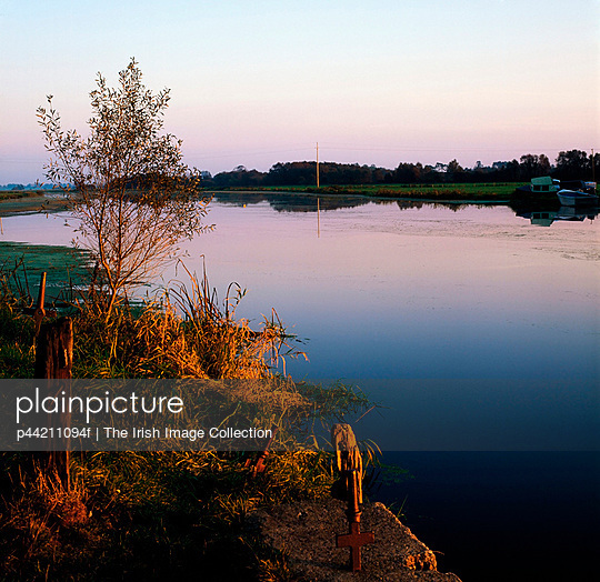 River Bann At Dusk At Bannfoot, Co Armagh, Ireland