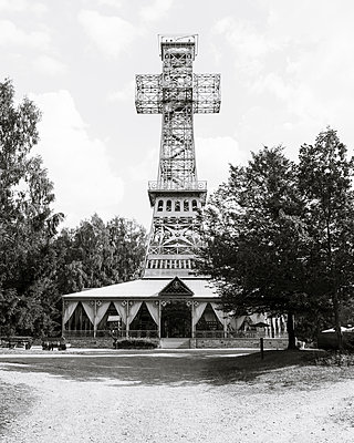 Joseph's Cross - The largest iron double cross in the world - p1214m2258720 by Janusz Beck
