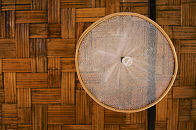Lamp made of mosquito net - p728m893467 by Peter Nitsch