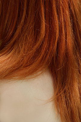 Back of a red-haired woman  - p450m1466406 by Hanka Steidle