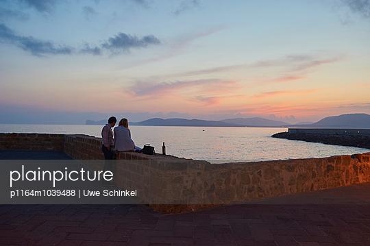 Sonnenuntergang - p1164m1039488 von Uwe Schinkel