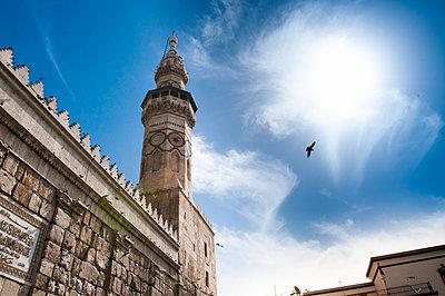Minarett der Umayyaden-Moschee in Damaskus, Syrien - p1493m2063998 von Alexander Mertsch