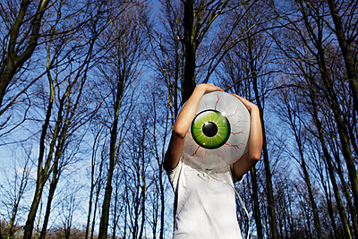 Eye balloon - p1670m2248756 by HANNAH