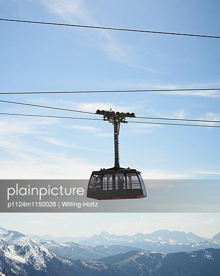 Seilbahn am Mont Blanc - p1124m1150028 von Willing-Holtz