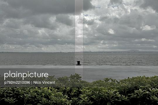 Hafenpoller in Lissabon - p792m2210096 von Nico Vincent