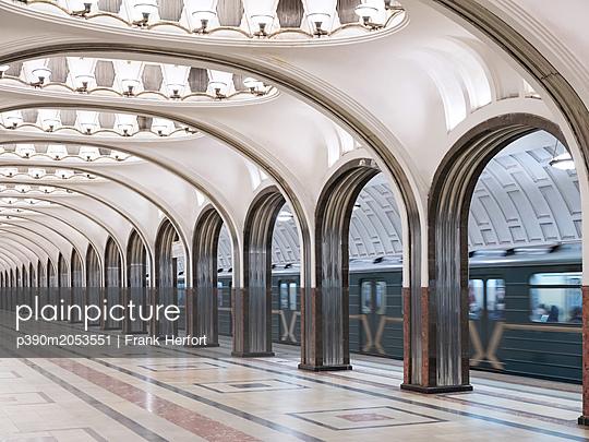 Subway station Majakowskaja - p390m2053551 by Frank Herfort