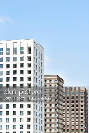 Mehrere Hochhäuser - p587m1155071 von Spitta + Hellwig