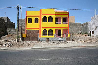 Neubau in Kap Verde - p1130318 von Lioba Schneider