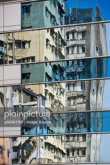 Skyscrapers in hong kong - p9246136f by Image Source