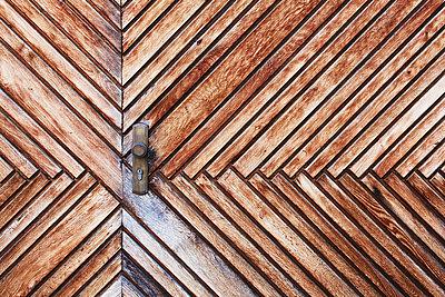 Holztor - p1006m891352 von Danel