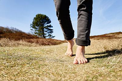Going barefoot - p1203m1578228 by Bernd Schumacher