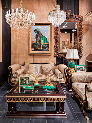 Decadent furnishing - p390m940406 by Frank Herfort
