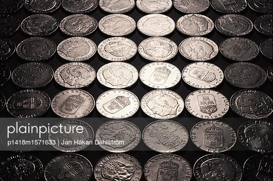 Schwedische Geldmünzen - p1418m1571633 von Jan Håkan Dahlström