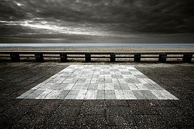 Chessboard - p1137m940638 by Yann Grancher