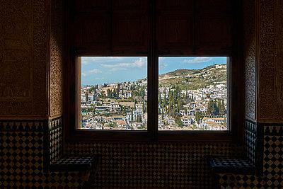 View to Granada - p1146m2150543 by Stephanie Uhlenbrock