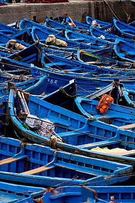 Fischerboote im Hafen von Essaouira - p6120247 von Pierre c.