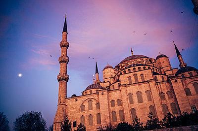 """Türkei, Istanbul, Sultan Ahmed Moschee """"Blaue Moschee"""" - p1085m2203567 von David Carreno Hansen"""