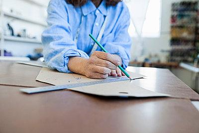 Seamstress drafting sewing pattern - p429m1197906 by Luka Storm