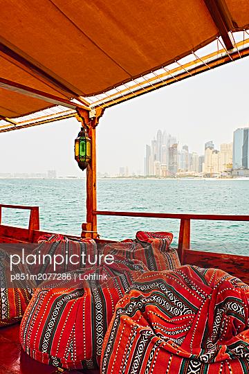 Skyline of Dubai - p851m2077286 by Lohfink