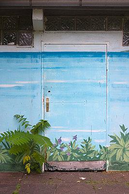 Painted wall - p1064m938066 by Esmeralda