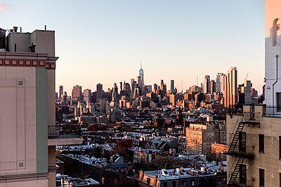 Skyline von New York  - p1094m2057236 von Patrick Strattner
