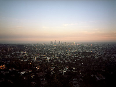 View from Griffith Observatory - p1177m1002790 by Philip Frowein