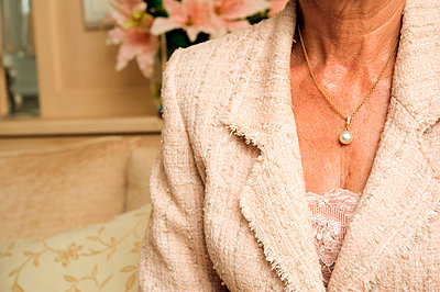 Pearl necklace - p5530015 by Christine Basler