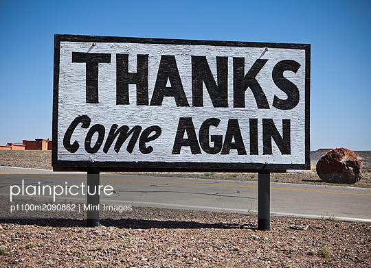 Appreciative Road Sign - p1100m2090862 by Mint Images