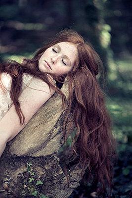 Sleeping - p992m912813 by Carmen Spitznagel