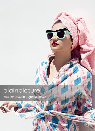 Towel Turban - p930m1064798 by Ignatio Bravo
