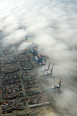 Bremerhaven Containerkai - p1016m741934 von Jochen Knobloch
