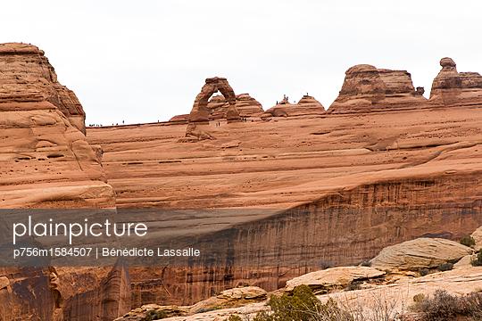 Touristen in Utah - p756m1584507 von Bénédicte Lassalle