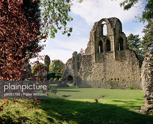 Wenlock Priory, Shropshire. Exterior - p8551795 by Peter Williams