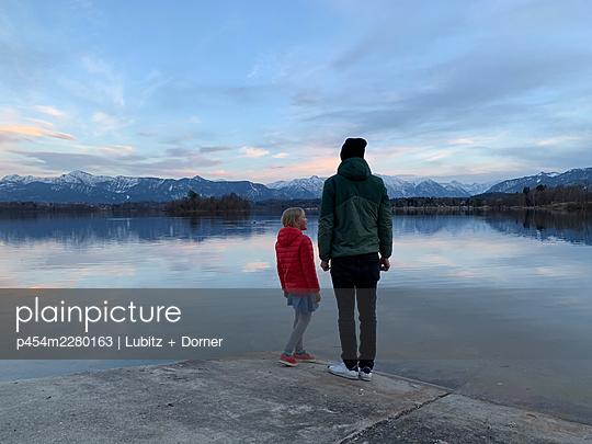 At the lake - p454m2280163 by Lubitz + Dorner