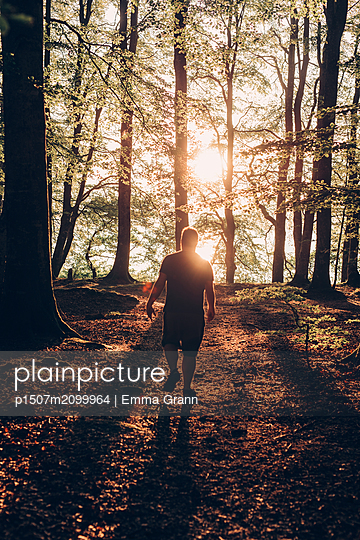 Walk in the sunset - p1507m2099964 by Emma Grann