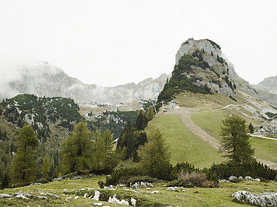 Alpine landscape - p803m2270245 by Thomas Balzer